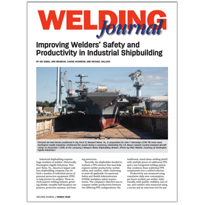 Welding Journal Shipbuilding Case Study